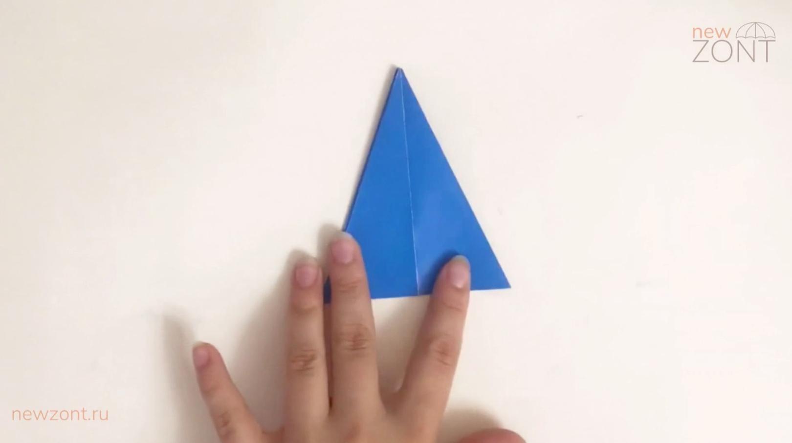 как сделать зонтик из гофрированной бумаги