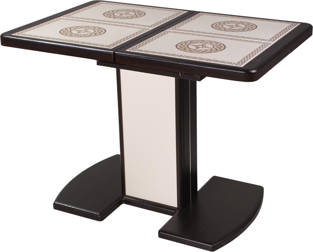 стол с плиткой на кухню