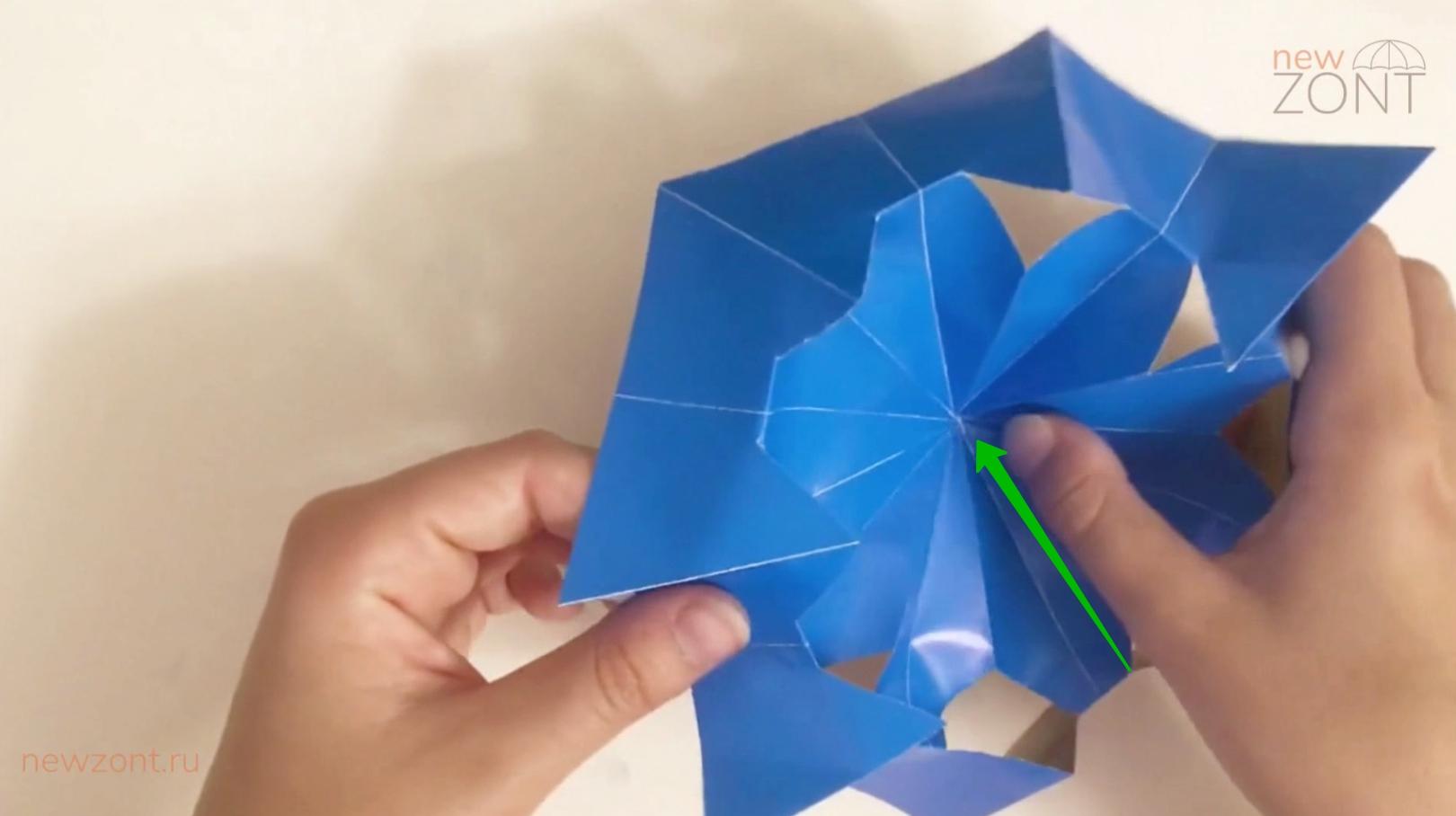 как сделать зонтик из бумаги для коктейля