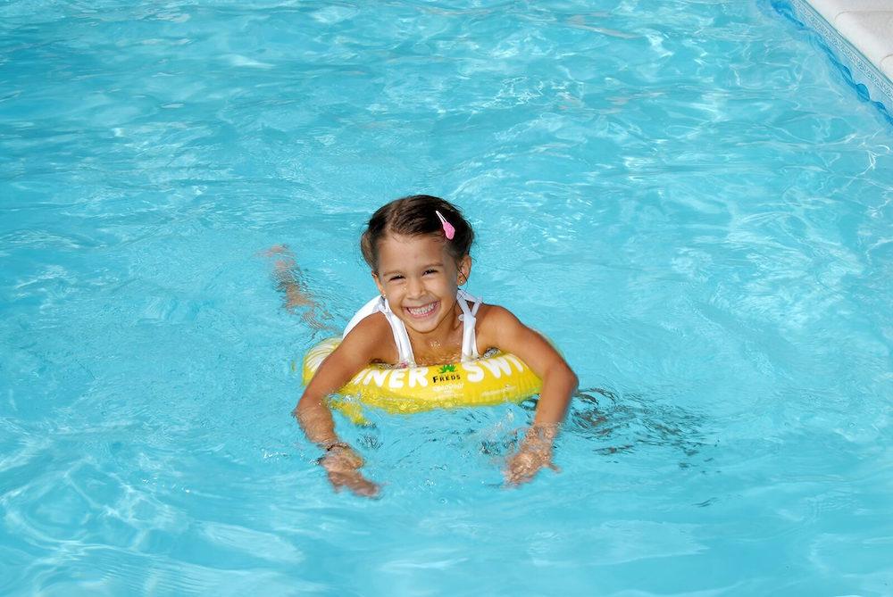 Желтый круг Swimtrainer для детей от 4 до 8 лет