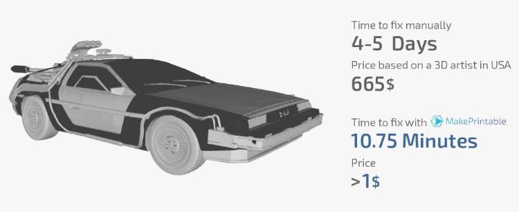 Еще одно преимущество от «ремонта» вашей модели – это экономия времени печати.