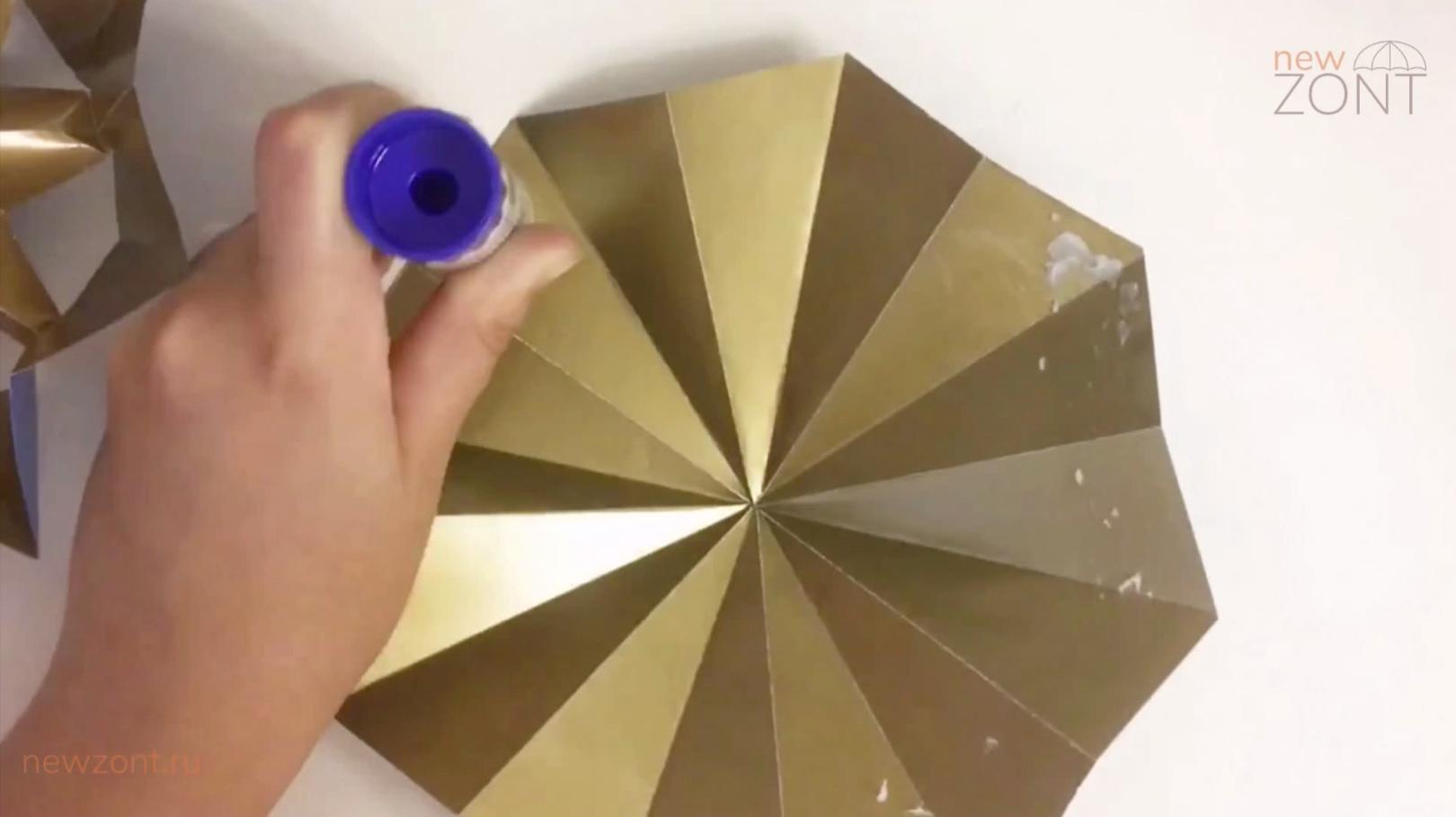 как сделать кукольный зонтик своими руками