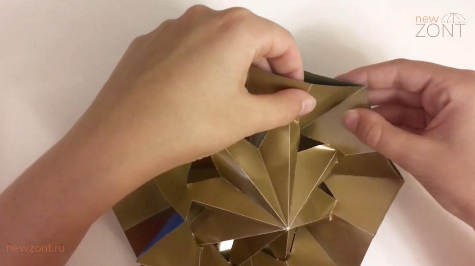как сделать мини зонтик