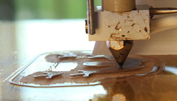 Печать рафта: высота слоя 0,04 мм (40 мкм) сопло 0,3 мм
