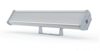 Промышленный светодиодный светильник с аккумулятором серии Iron 2.0 на поворотном кронштейне – вид спереди
