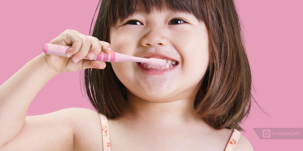 Детская Зубная щетка Xiaomi Doctor-B в комплекте 2 щетки (Розовый/pink)