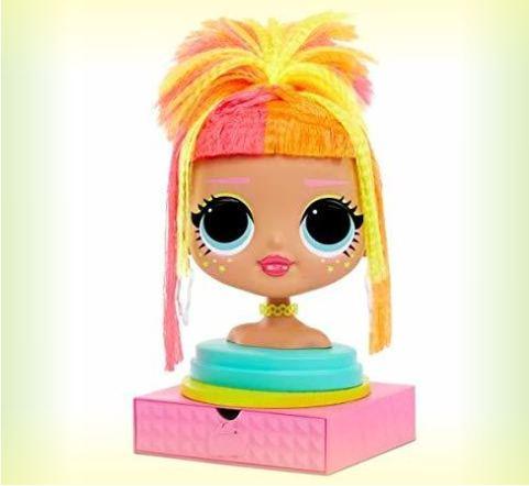 Торс для причесок куклы Neonlicious
