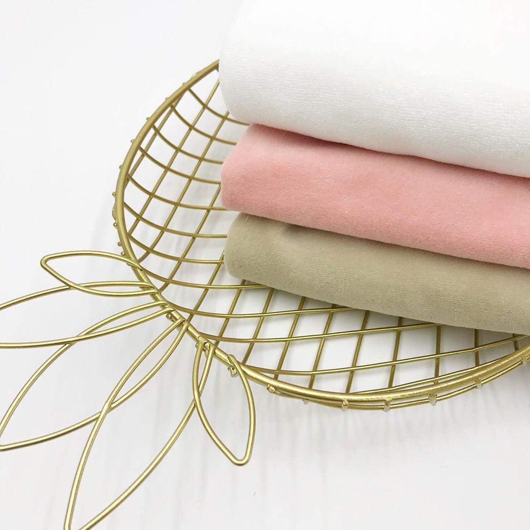 Купить ткань велюр хлопковый