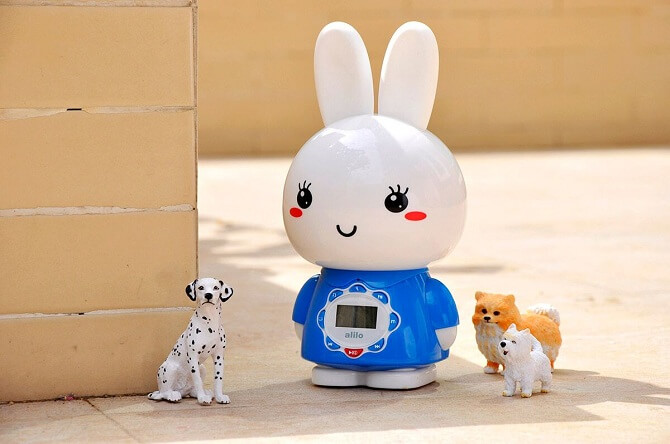 Зайчик G7 Alilo Синий - развивающая игрушка с рождения!