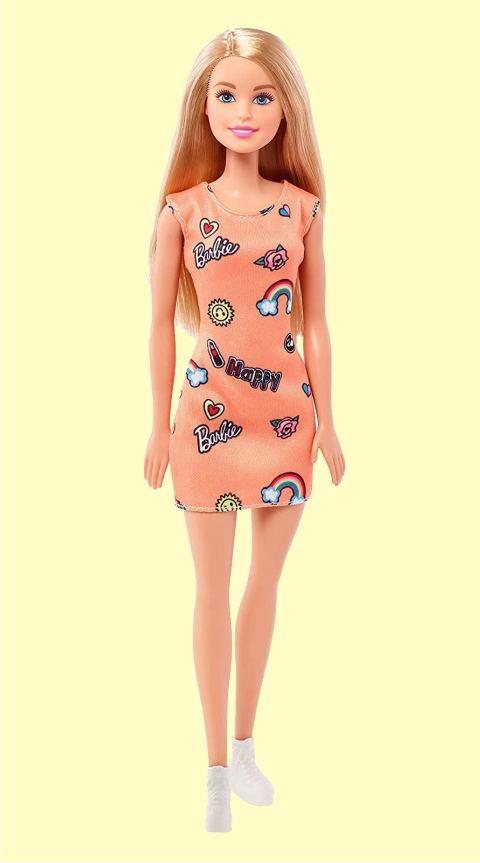 Оранжевое платье для Barbie - серия Стиль