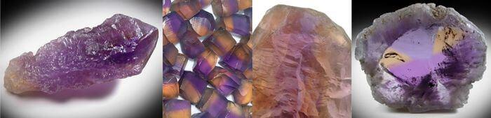 аметрин из Боливии