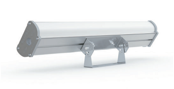 Внешний вид аварийного светодиодного светильника на поворотном кронштейне Iron EM 600 IP67 – вид сзади