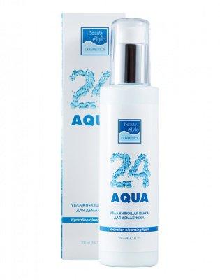 Увлажняющая пенка для демакияжа «Аква 24» Beauty Style купить в Москве