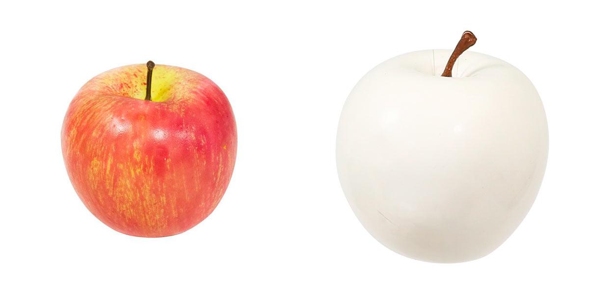 Муляж яблока.