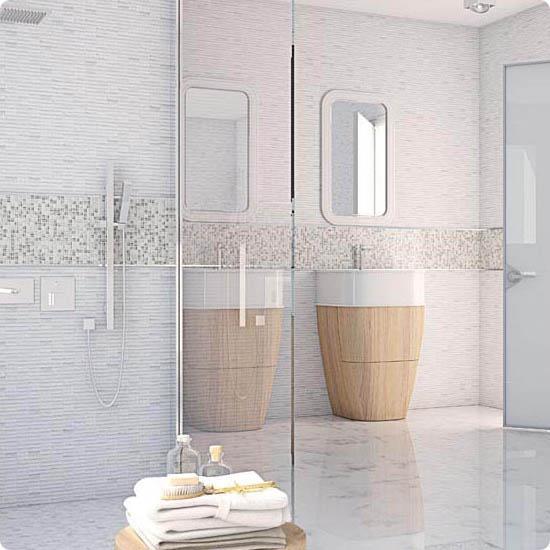 Современный стиль в ванной комнате