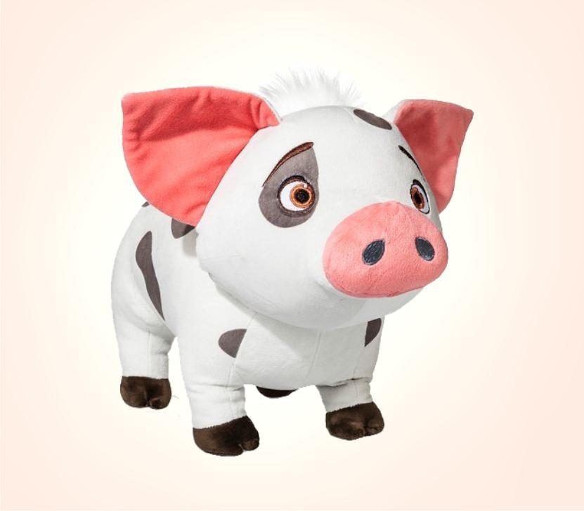 Плюшевая подушка - свинка Пуа из Моана
