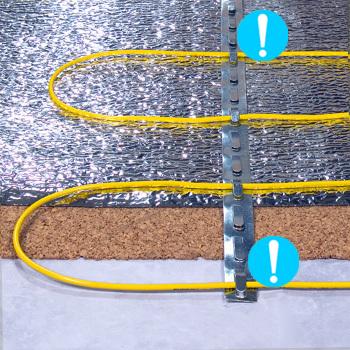 Площадь обогрева, кв.м: 10,0—12,0 Длина, м: 68,9 Мощность, Вт: 1200 Напряжение питания сети: 220-240 В, 50 Гц