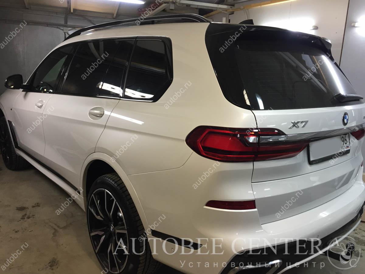 BMW X7 (установка фаркопа)