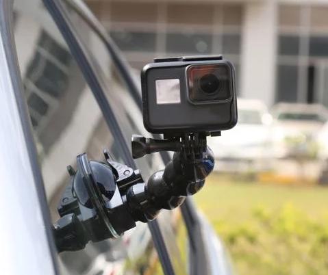 Гибкий держатель присоска для GoPro