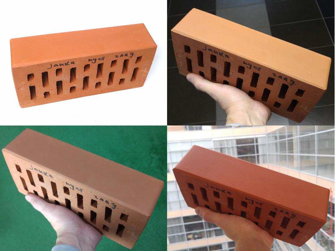 Подбор клинкерной плитки по фотографии