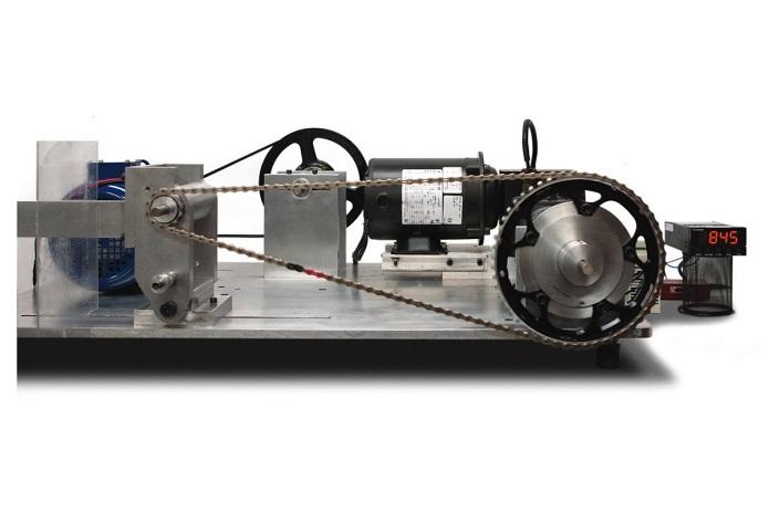 станок для измерения потерь мощности на цепи
