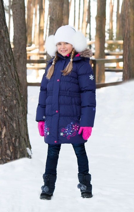 Пальто Premont Маршмеллоу WP91352 Dark Blue купить в интернет-магазине Premont-shop