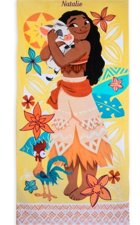 Детское пляжное полотенце Моана