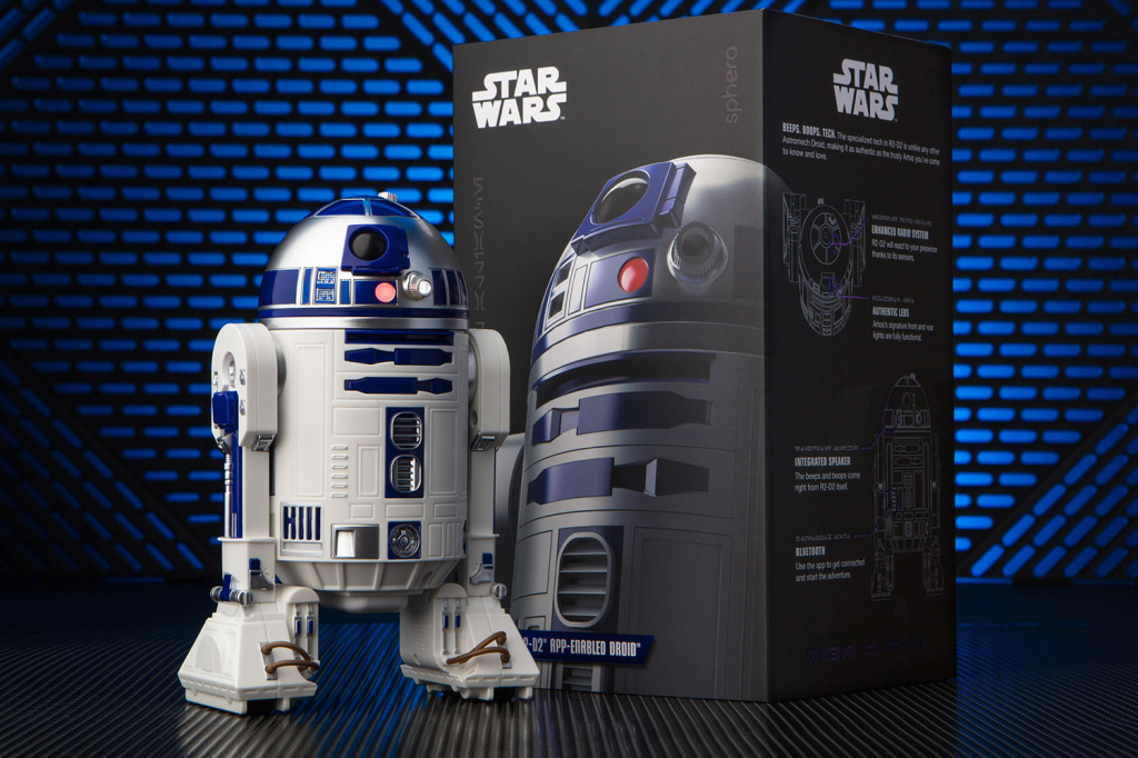 Робот-дроид Sphero Star Wars R2-D2