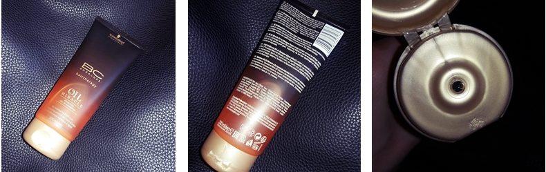 Фотоогляд на шампунь з аргановою олією Schwarzkopf
