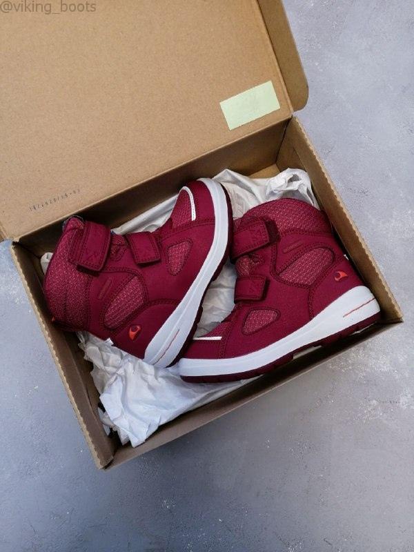 Ботинки Viking Spro Dark Red/Red