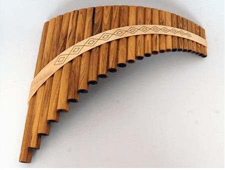 Многоствольная флейта (пан-флейта, най)
