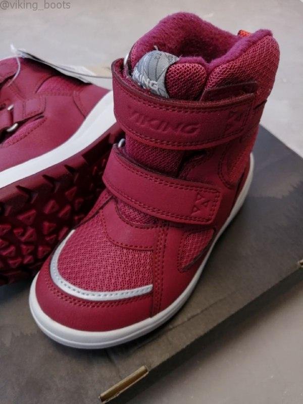 Ботинки Viking Spro купить в красном цвете (сезон 2020-2021) можно в интернет-магазине Viking-boots