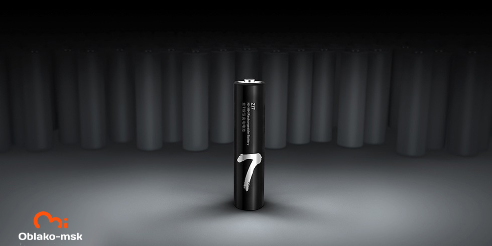 Аккумуляторные батарейки Xiaomi ZI7 Ni-MH Rechargeable Battery (4 шт.)