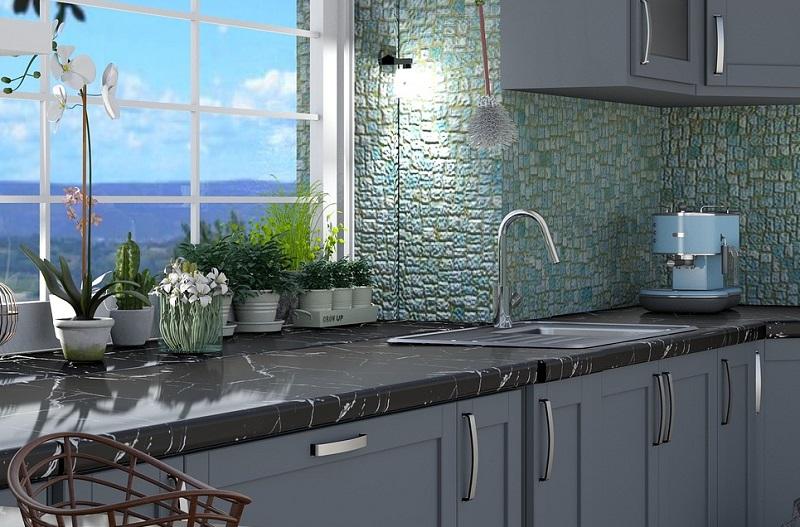 Смеситель для кухни с душем лейкой