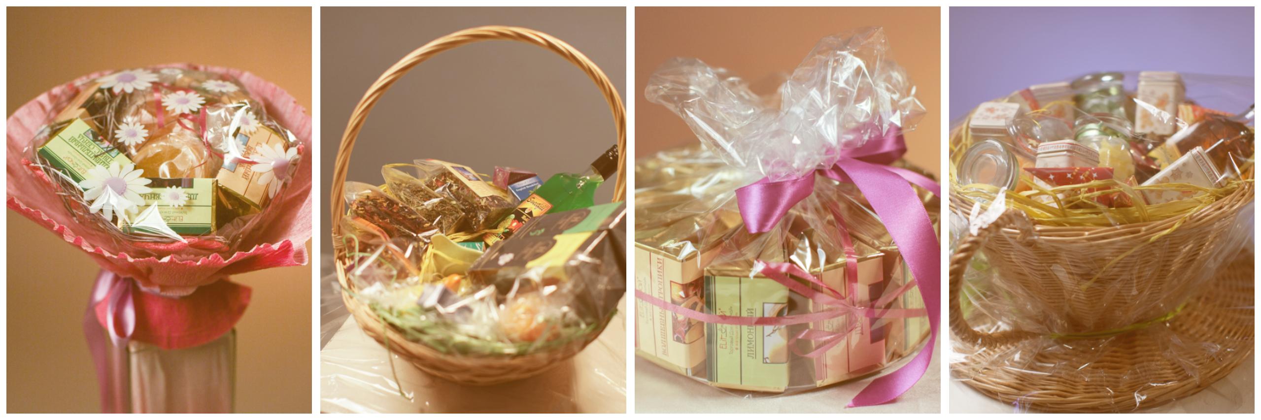 Подарки из чайной продукции