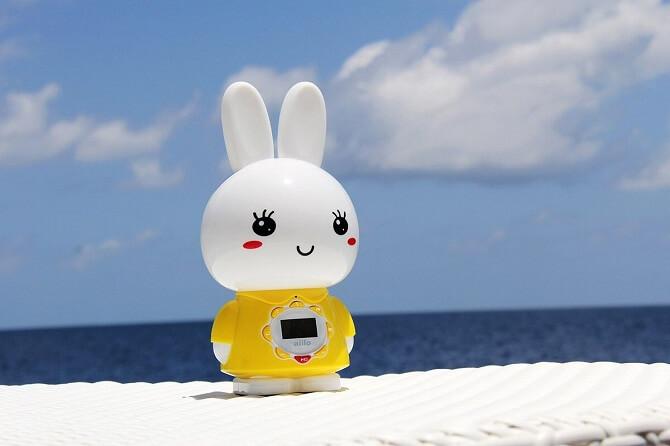 Alilo G7 заяц желтый