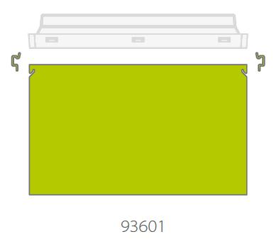 Двухстороннее PMMA табло для светового указателя направления движения Vella LED DS