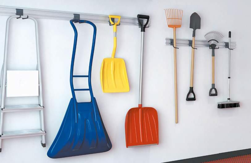 Система хранения для гаража и мастерской