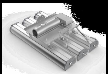 Консольное крепление для трех светильников серии Iron 2.0