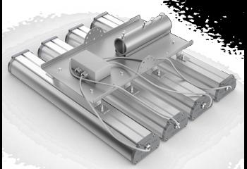 Консольное крепление для четырех светильников серии Iron 2.0