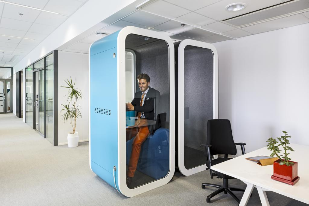 Акустическая кабина в офис