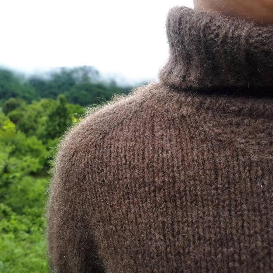 детский свитер из пуха яка