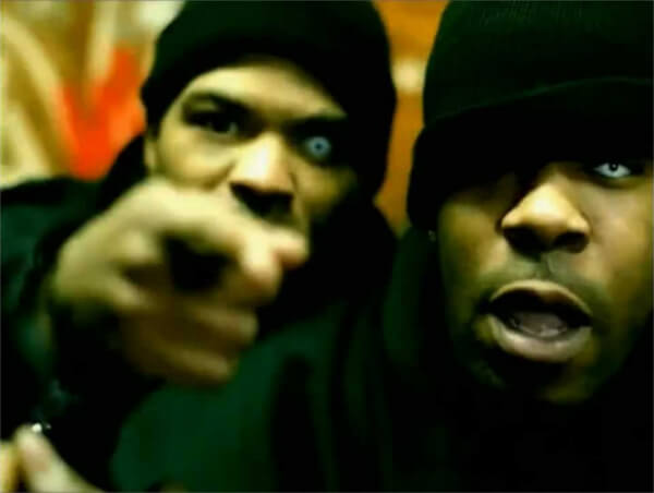 Busta Rhymes, Method Man (Frutti Colors Crazy - White Out)