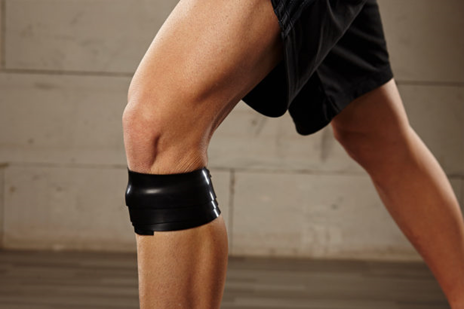 Лікування коліна еластичними стрічками