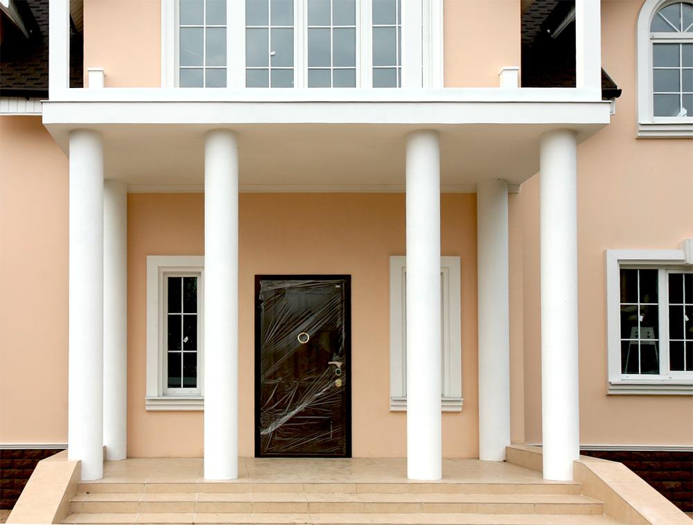 Декор фасадный из полиуретана