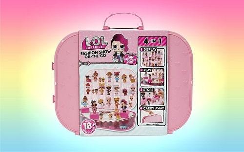 Игровой контейнер для кукол ЛОЛ (светло-розовый)