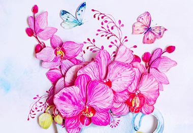 Перейти в наш каталог, в раздел Цветы.