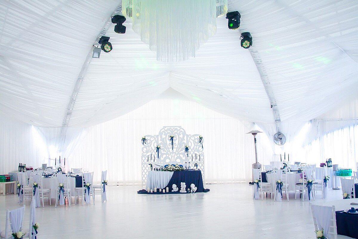 гексагональный шатер