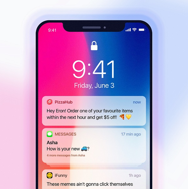 Мобильные push-уведомления