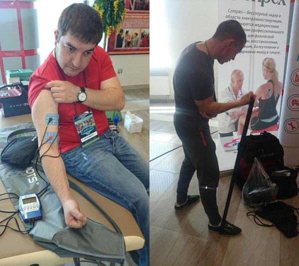 Миостимуляция и функциональный тренинг на кубке Самсон в Краснодаре